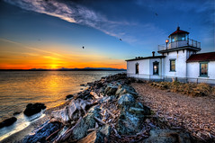 Rocky Driftwood Lighthouse photo by Surrealize