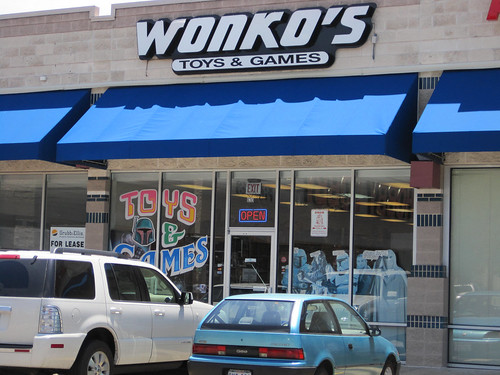 Wonko's Toys and Games Store Entrance