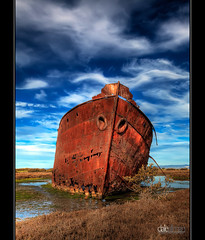 Excelsior's Wreck, Mutton Cove - HDR photo by Dale Allman