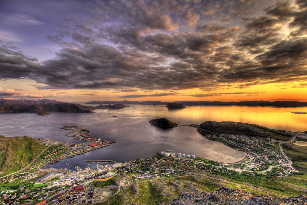HDR over Rypefjord photo by Tor Even Mathisen