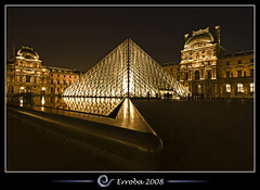 Angled @ The Louvre, Paris, France :: Long Exposure photo by Erroba