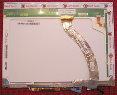 Back of LCD