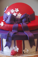 red hat society cake photo by thelushcake