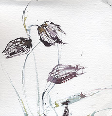 Fritillary Watercolour & Palette Knife photo by skyeshell