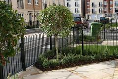 Portfolio yorkshire garden designs frances hainsworth for Georgian townhouse garden design
