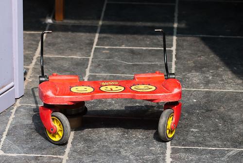 Staplank voor buggy