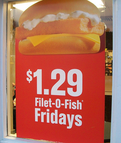 Filet-O-Fish Sign