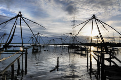 The Rising - Chinese Fishing Nets, Fort Kochi, Kerala photo by Anoop Negi