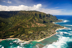 From the Air - North Shore, Kauai photo by JeremyHall