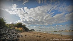River Thames Beach - Time Lapse photo by කේදාර KhE 龙