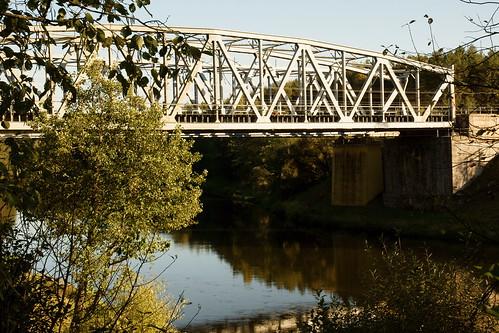 Geležinkelio tiltas per Nerį   Railway bridge over Neris