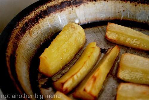 Roast parsnips