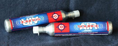 CO2 bottles