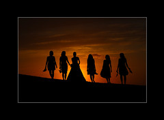 Wedding Silhouette photo by Sainaa|photography