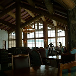 Midmountain lodge at Snowbasin
