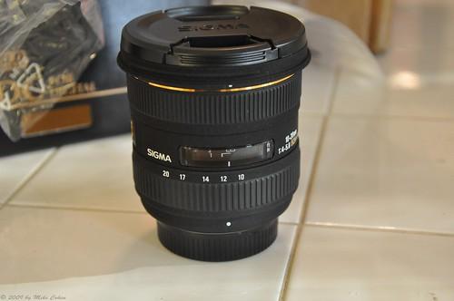 Sigma 10-20mm lens