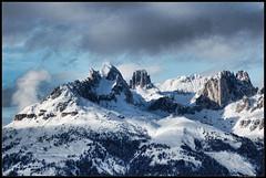 panoramic  view of Dolomiti photo by Andrea Rapisarda