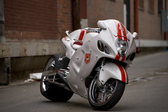 White Hayabusa photo by NZP Photography