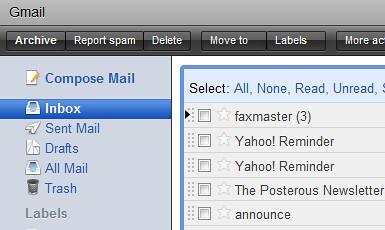 Gmail : Snow Leopard Skin