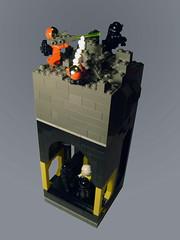 Blacktron underground base under attack photo by bionicbadboi