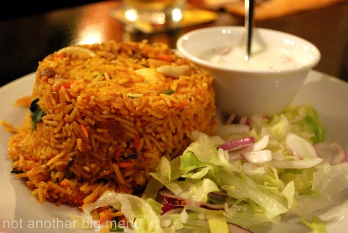Papaya - Mutton biriyani £8.50