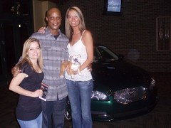 Niki Rasmussen, Darryl Strawberry and Debbie Schjodt