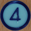 Colour Bingo blue number 4