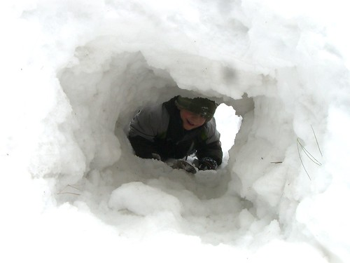Snow Tunnel at Grampys