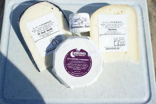 Cheese Picnic @ Kitsalano Beach Park