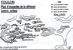 1944- Provence- Batteries de DCA allemandes