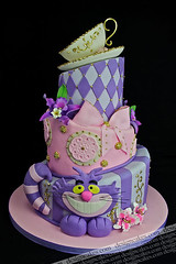 Alice wonderland cake photo by Design Cakes