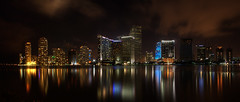 Miami Florida Pano Reflection photo by Will Shieh