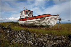 Old boat photo by icerock