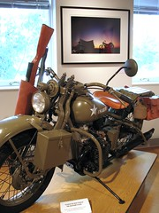 1942 Harley Davidson Military 42 XA photo by Kentucky Arts
