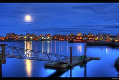 The Docks and The City: Victoria B.C's Skyline photo by Brandon Godfrey