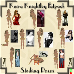 Keira Knightley Fatpack photo by ZellyMornington