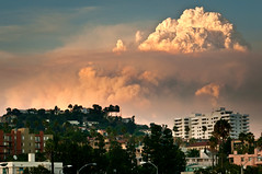Los Angeles Fire photo by Sunset Noir
