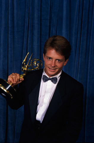 Emmy-Michael J. Fox-1988