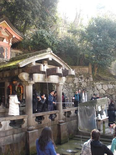 Kiyomizu-dera: Otowa Waterfall