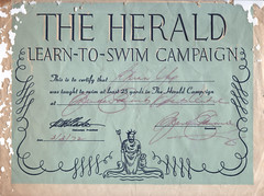 THE HERALD LEARN-TO-SWIM CAMPAIGN