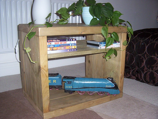 Rustic TV Stand - Vienna Woodworks Rustic Furniture Co