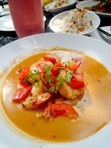 Prawns in Coconut Lime Curry