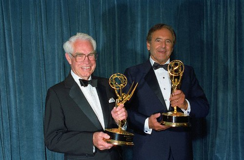 William Hanna e Joseph Barbera - emmy 1988