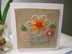 Handmade Birthday Card photo by Katy's Clutter