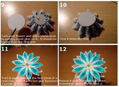 Kanzashi Tutorial: Chrysanthemum, 9-12 photo by Hatsu-chan^^