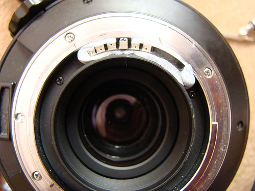 Rechipping Sigma lens
