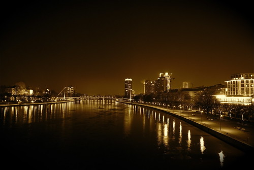 Frankfurt am Main Night Lights