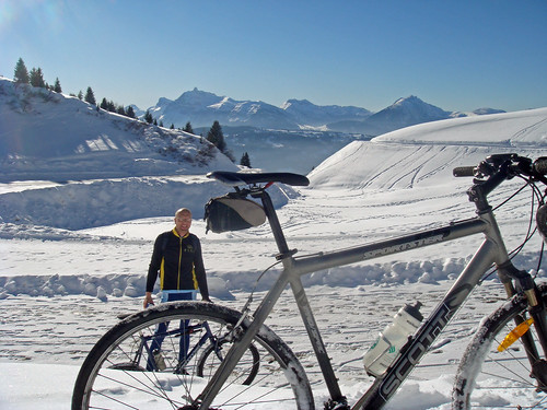 The Top - Col de Joux Plane