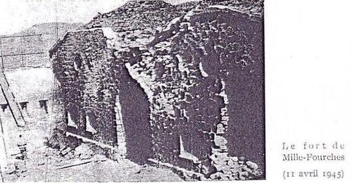 Authion - 1945 - Le fort de Mille Fourches conquis par le BM XI