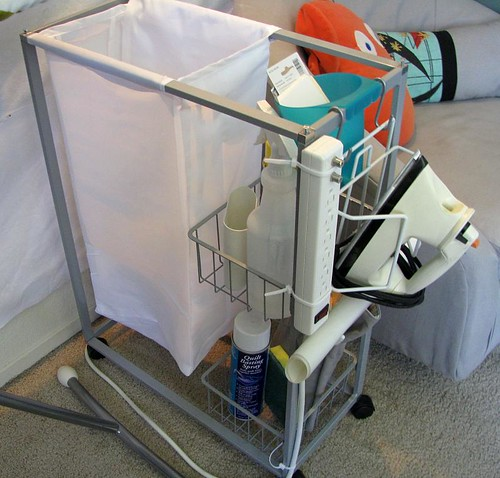 portable ironing station